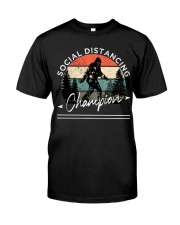 Social Distancing - Champion - Bigfoot Classic T-Shirt front