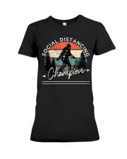 Social Distancing - Champion - Bigfoot Premium Fit Ladies Tee thumbnail