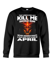 THAT WHICH DOES NOT KILL ME-APRIL Crewneck Sweatshirt thumbnail