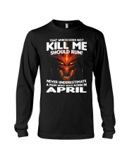 THAT WHICH DOES NOT KILL ME-APRIL Long Sleeve Tee thumbnail