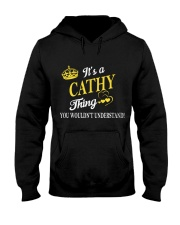 Cathy Thing Name Shirts Hooded Sweatshirt front