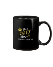 Cathy Thing Name Shirts Mug thumbnail