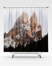 Mountain design Shower Curtain aos-shower-curtains-71x74-lifestyle-front-02