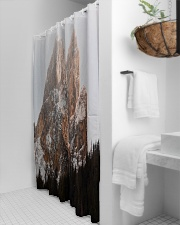 Mountain design Shower Curtain aos-shower-curtains-71x74-lifestyle-front-03