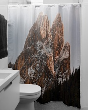 Mountain design Shower Curtain aos-shower-curtains-71x74-lifestyle-front-04