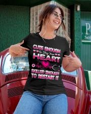 Cute Enough Nurse T-shirt  Ladies T-Shirt apparel-ladies-t-shirt-lifestyle-01