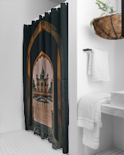 Safdarjung tomb in India  Shower Curtain aos-shower-curtains-71x74-lifestyle-front-03