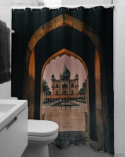 Safdarjung tomb in India  Shower Curtain aos-shower-curtains-71x74-lifestyle-front-04