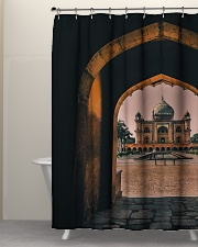 Safdarjung tomb in India  Shower Curtain aos-shower-curtains-71x74-lifestyle-front-05