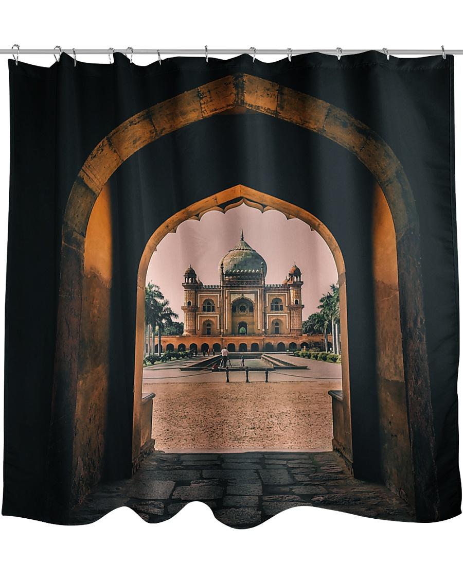 Safdarjung tomb in India  Shower Curtain