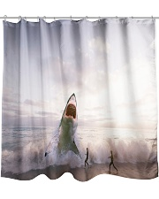 Shark attack Shower Curtain front