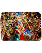 "Gold dragon Bath Mat - 24"" x 17"" thumbnail"