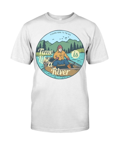 Time like is a river