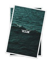 The Ocean Collection Sticker - 2 pack (Vertical) thumbnail