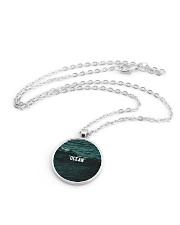 The Ocean Collection Metallic Circle Necklace aos-necklace-circle-metallic-lifestyle-03