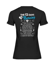 DAYS OF NURSING  Premium Fit Ladies Tee thumbnail