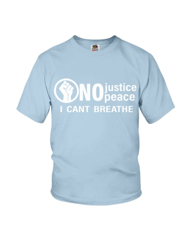 No justice peace i can't breath