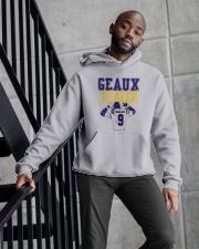 Let's Geaux Jeaux Shirt Hooded Sweatshirt apparel-hooded-sweatshirt-lifestyle-front-10