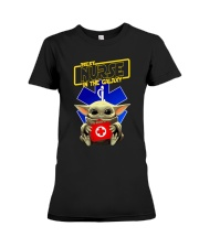 BEST NURSE IN THE GALAXY Premium Fit Ladies Tee thumbnail