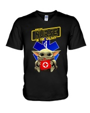 BEST NURSE IN THE GALAXY V-Neck T-Shirt thumbnail