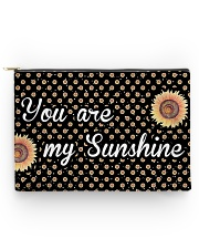 You Are My Sunshine Sunflower Accessory Pouch - Large thumbnail
