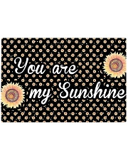 You Are My Sunshine Sunflower Rectangle Cutting Board front