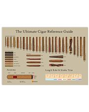 The Ultimate Cigar Reference Guide 17x11 Poster front