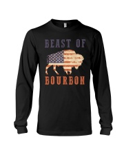 Beast of Bourbon American Flag Vintage Design Long Sleeve Tee tile