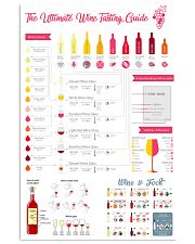 The Ultimate Wine Tasting Guide 11x17 Poster front