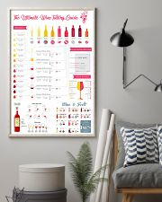 The Ultimate Wine Tasting Guide 11x17 Poster lifestyle-poster-1