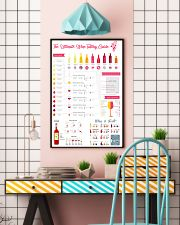 The Ultimate Wine Tasting Guide 11x17 Poster lifestyle-poster-6