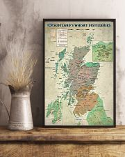 Scotland's Whisky Distilleries Map 11x17 Poster lifestyle-poster-3