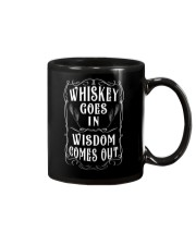 Whiskey goes in Wisdom comes out Vintage Design Mug thumbnail