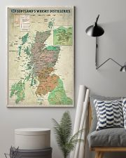 Scotland's Whisky Distilleries Map 11x17 Poster lifestyle-poster-1