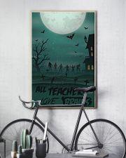 All Teachers Love Brains Halloween 11x17 Poster lifestyle-poster-7
