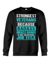 APPAREL STRONGEST VETERANS Crewneck Sweatshirt thumbnail