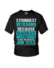 APPAREL STRONGEST VETERANS Youth T-Shirt thumbnail