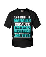 APPAREL SHIFT MANAGER Youth T-Shirt thumbnail