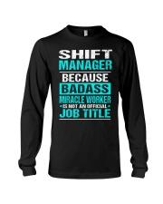 APPAREL SHIFT MANAGER Long Sleeve Tee thumbnail