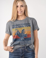 Everything Will Kill You Bull Riding Classic T-Shirt apparel-classic-tshirt-lifestyle-front-100