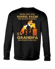 Behind Every Barrel Racer Is Grandpa Barrel Racin Crewneck Sweatshirt tile