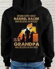 Behind Every Barrel Racer Is Grandpa Barrel Racin Hooded Sweatshirt apparel-hooded-sweatshirt-lifestyle-back-59