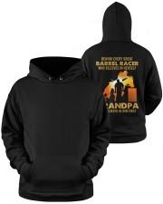 Behind Every Barrel Racer Is Grandpa Barrel Racin Hooded Sweatshirt apparel-hooded-sweatshirt-lifestyle-front-38