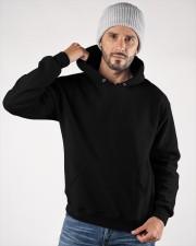 Behind Every Barrel Racer Is Grandpa Barrel Racin Hooded Sweatshirt apparel-hooded-sweatshirt-lifestyle-front-73a
