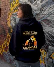 Behind Every Barrel Racer Is Grandpa Barrel Racin Hooded Sweatshirt lifestyle-unisex-hoodie-back-1
