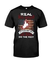 Real Bull Riders Bull Riding Classic T-Shirt front