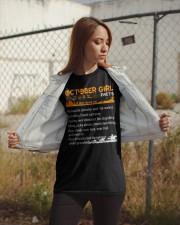 October Girl Halloween Classic T-Shirt apparel-classic-tshirt-lifestyle-07