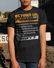 October Girl Halloween Classic T-Shirt apparel-classic-tshirt-lifestyle-29