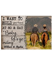 I Want To Hold Your Hand At 80 Horse 24x16 Poster front