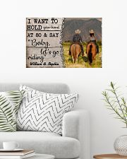 I Want To Hold Your Hand At 80 Horse 24x16 Poster poster-landscape-24x16-lifestyle-01